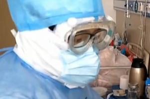 53秒丨点赞!山东援助湖北医疗队队员监测新冠肺炎用上新手段