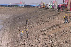 潍坊高密:重点水利工程全面复工 确保汛期前投入使用