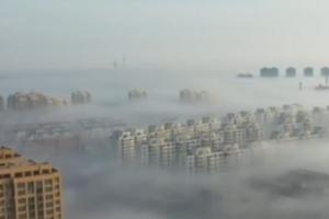 央视《新闻直播间》:山东大雾橙色预警 局地能见度不足50米