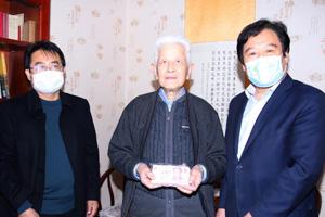 山东畜牧兽医职业学院离休干部姜子琢捐款1万元支持疫情防控