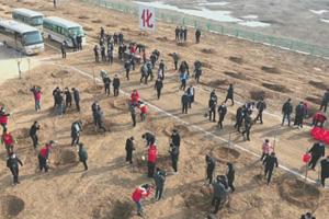 计划国土绿化1.2万亩 潍坊昌邑开展义务植树活动