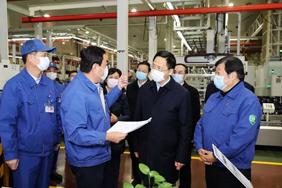惠新安:加强疫情防控 开足马力生产 确保防疫生产两不误