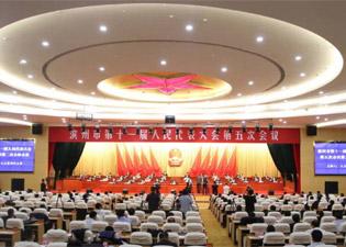 滨州市第十一届人民代表大会第五次会议举行第二次全体会议