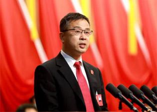 滨州中院党组书记、代院长李军在滨州市第十一届人民代表大会第五次会议上作工作报告