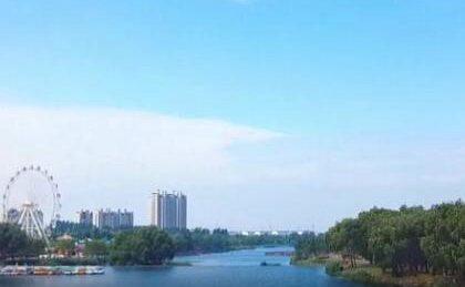 """一河风景、两岸秀色 临沂莒南鸡龙河变身城市""""会客厅"""""""