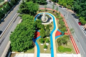 日照市领导督导创城交通秩序整治工作