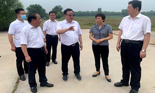 刘长民到平原县督导《问政山东》反映问题整改工作