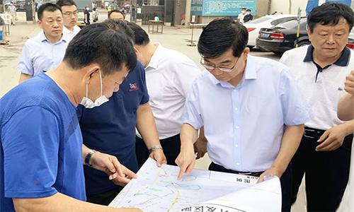 德州市委书记李猛、市长杨洪涛等市领导一线督导《问政山东》反映问题整改
