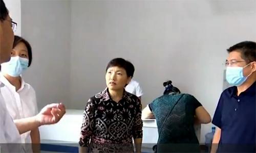 副市长张桂爱到临邑、乐陵、宁津督导《问政山东》反映问题整改工作