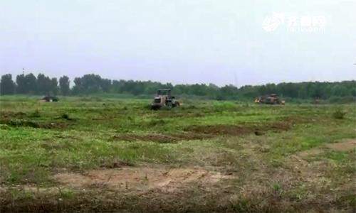 【山东新闻联播】平原县启动低效利用土地清表还耕,土地流转于秋后种植冬小麦