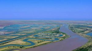 高空感受黄河口湿地的壮美与变迁