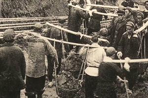 大迁建 | 飞机轮番轰炸都没用,六十年前他们却用肉体战胜了黄河凌汛决口