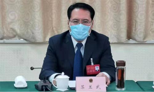 禹城市长苏兰武