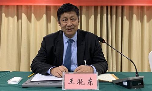 庆云县委书记王晓东