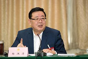 杨洪涛参加禹城代表团审议