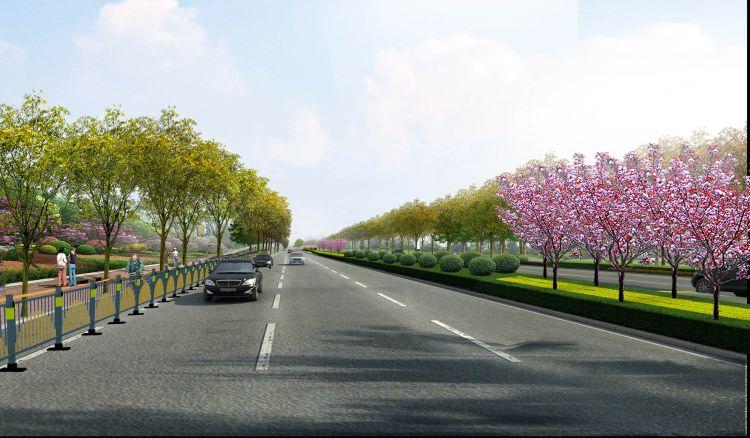 贾庄到武城高速规划图