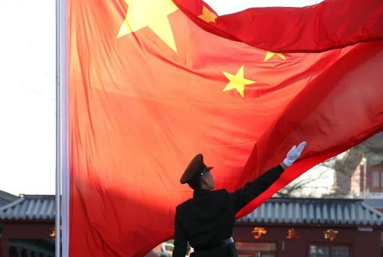 激动人心的视频来了!国庆节天安门广场升国旗仪式