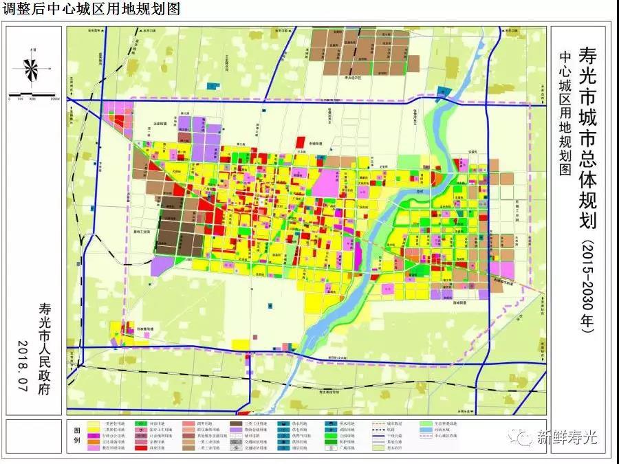 寿光地图市区地图