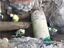 最新!济南历山路管道损坏,恢复供水时间或延长至19点
