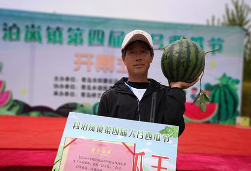 """14斤!昨天,青岛这个地方诞生了""""瓜王""""(图)"""