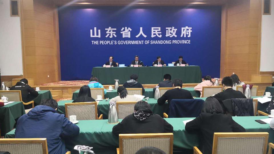 直播:2019年第一季度山東省經濟社會發展情況