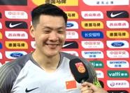 王大雷:年轻球员与老队员配合没大问题,这是好的开始