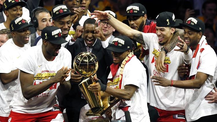 NBA总决赛G6:猛龙大比分4-2夺得历史首冠