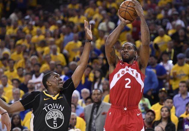 NBA总决赛G6:克莱30分伤退,猛龙大比分4-2夺得历史首冠