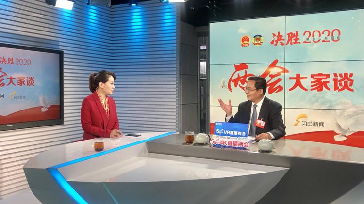 直播回顾:省人大代表、乐陵市长王大山做客山东台《两会大家谈》
