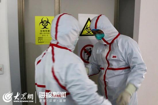 每天与新冠活病毒零距离的山东汉子:我们希望每一份检测结果都是阴性的