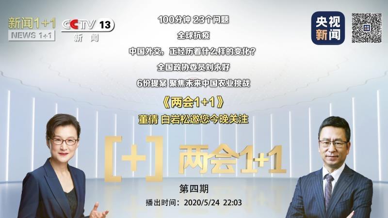 《两会1+1》王毅100分钟答复23个成绩