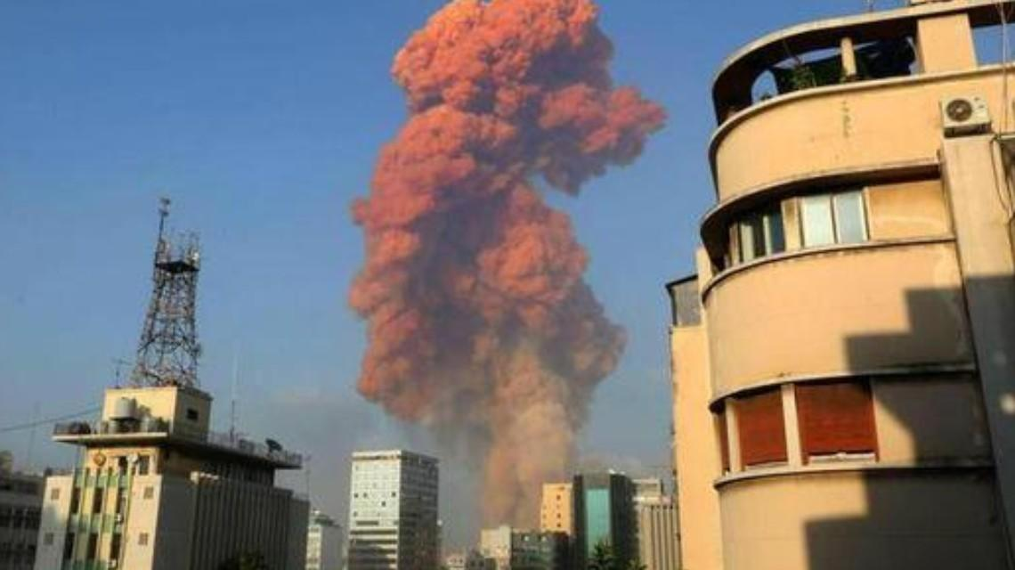 黎巴嫩首都贝鲁特大爆炸:已致至少70余人死亡