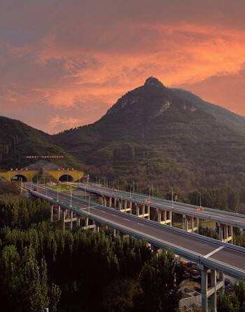 穿越在山水畫卷!山東最美高速通車在即
