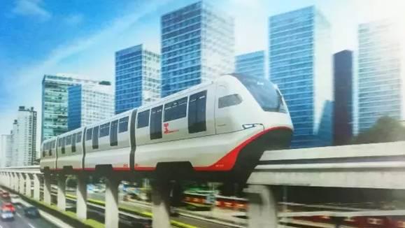 潍坊轨道交通确定为跨坐式单轨