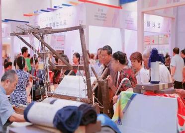 山东省民俗文化博览交易会在潍坊鲁台会展中心开幕