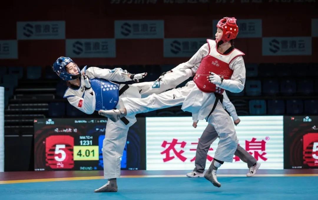 山东跆拳道全国赛连创佳绩