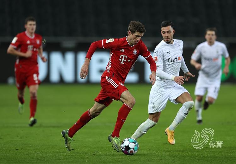 霍夫曼兩射一傳 門興3-2拜仁慕尼黑