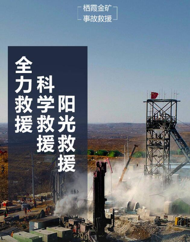 发挥党员模范带头作用 聚力栖霞金矿事故救援