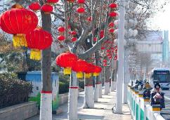 潍坊市节日市场购销两旺