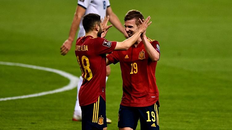 奥尔莫世界波! 西班牙3-1科索沃