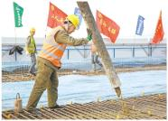 6个标段全部实现预制梁生产,潍烟高铁线上工程全面施工