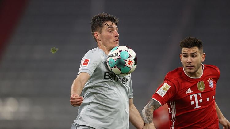 基米希破门 拜仁2-0领先10分