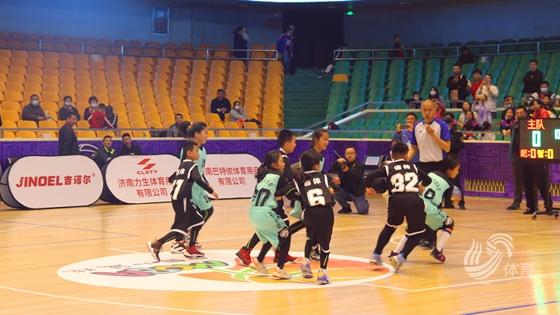 """""""吉诺尔杯""""2021山东小篮球联赛 在山东省体育中心开赛"""