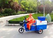 实用又美观!首批新式保洁车亮相潍坊街头