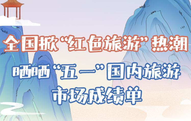 """全国掀""""红色旅游""""热潮 晒晒""""五一""""国内旅游市场成绩单"""