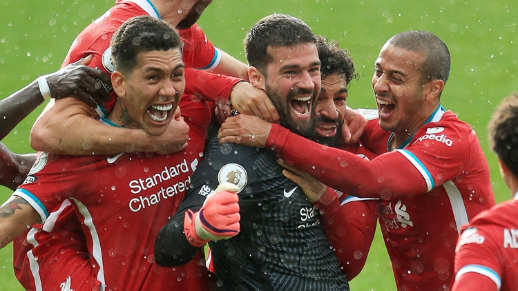 萨拉赫破门!利物浦2-1逆转
