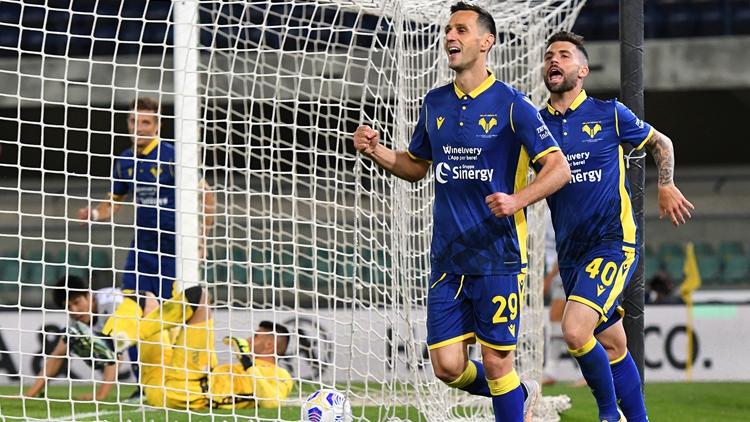 卡利尼奇破门 维罗纳2-2博洛尼亚
