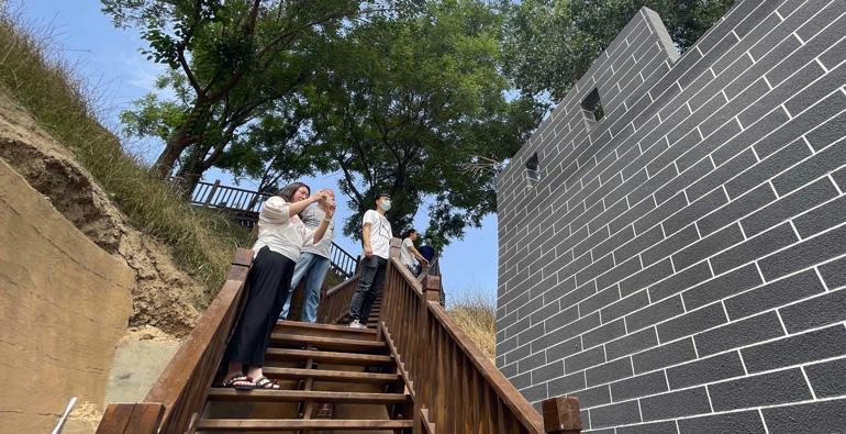 换新颜!潍坊古城墙变身社区新景点