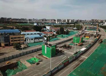 潍坊这里,是山东首条新建5G高架快速路