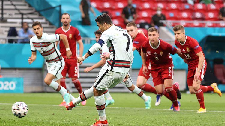 C羅點射+天秀破門!葡萄牙3-0匈牙利